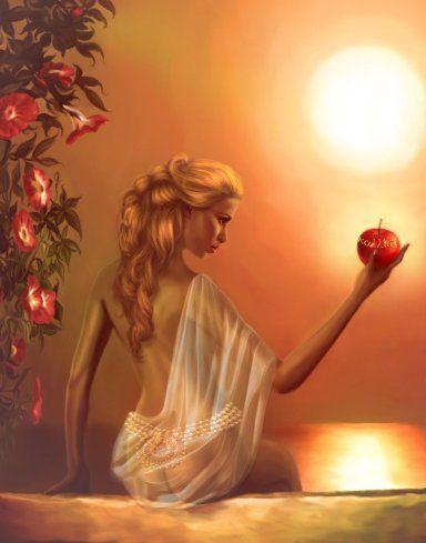 Aphrodite là nữ thần đại diện cho tình yêu và sắc đẹp.