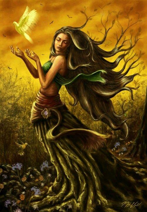 Nữ thần Nông nghiệp Demeter.