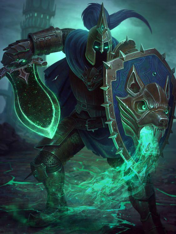 Thần Chiến tranh Ares luôn xuất hiện với hình tượng dữ tợn.