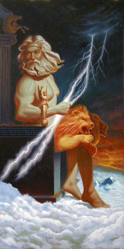 Trong số các vị thần Hy Lạp bảo hộ 12 chòm sao, Zeus là vị thần quyền uy nhất.