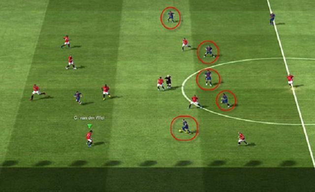Cách chỉnh chiến thuật Tiki Taka trong Fifa Online 3 hiệu quả