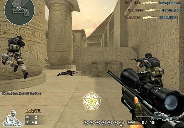 Bối cảnh trong game Đột kích vô cùng ấn tượng khiến người chơi luôn cảm thấy rất thú vị khi chìm đắm trong những cuộc chiến nảy lửa