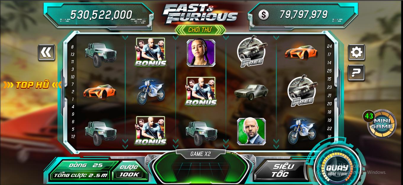 Trước khi tham gia thật, game thủ có thể tham gia thử không có giới hạn để thử nghiệm chiến thuật của mình ở B52 Club