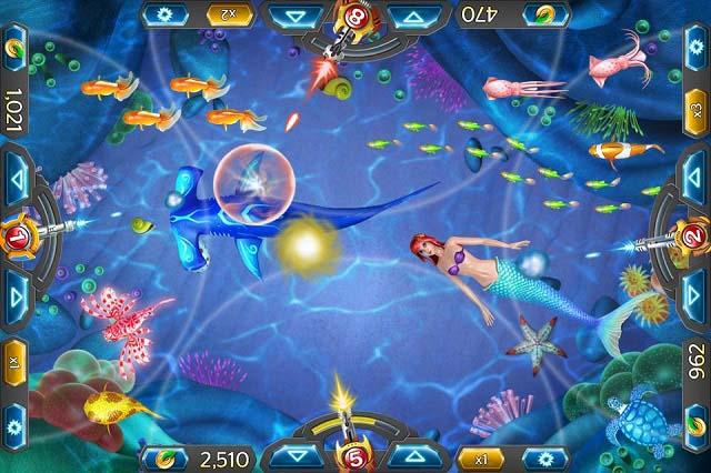 Game bắn cá bản hack được phát triển dựa trên trò chơi bắn cá siêu thị