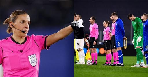 Euro 2021 đã có nữ trọng tài